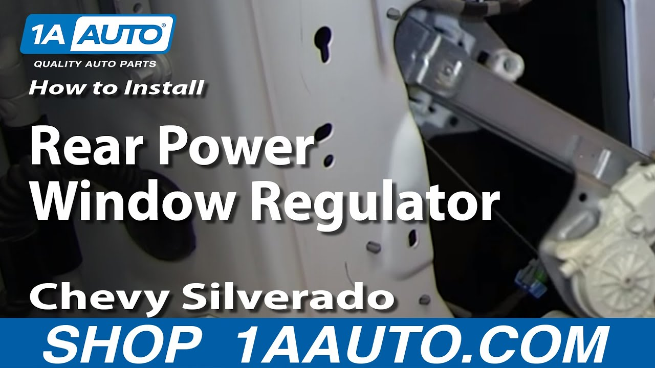 2007 chevy silverado power window wire diagram how to replace window regulator 07 13 chevy silverado 1500 youtube  chevy silverado 1500