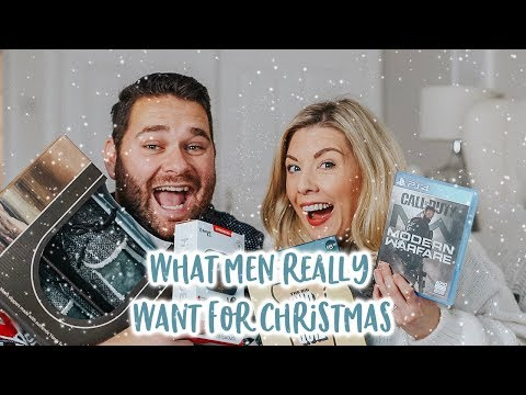 CHRISTMAS GIFT GUIDE FOR MEN WHAT GUYS REALLY WANT! | KATE MURNANE