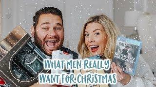 CHRISTMAS GIFT GUIDE FOR MEN WHAT GUYS REALLY WANT! | KATE MURNANE