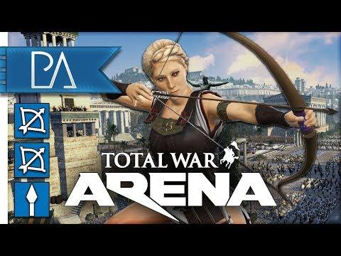 BLOTTING OUT THE SUN! - Cynane - Total War: Arena Gameplay