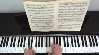 Й.С. Бах. Волынка. Видеоурок для фортепиано.