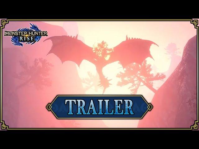 Monster Hunter Rise - Trailer #6 : Lancement & MAJ 2.0