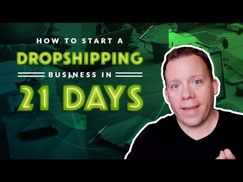 How To Start a Dropshipping Business In 21 Days 💻📈💵 thumbnail