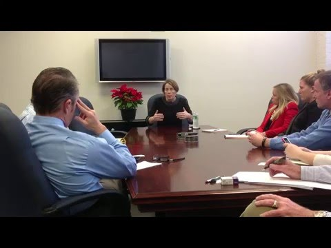 Sun's editorial board meeting with Attorney General Maura Healey