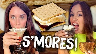 Taste Testing Crazy S'mores Foods! (Cheat Day)
