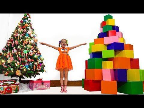 Макс и Катя и их подарки на Рождество