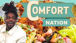 Cooking Fried Chicken + Mississippi Soul Food 🍗COMFORT NATION