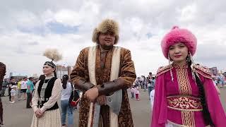 Впервые в столице проходит фестиваль Nur-Sultan Ethno Fest
