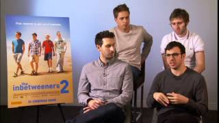 The InBetweeners 2 - Cast Interview