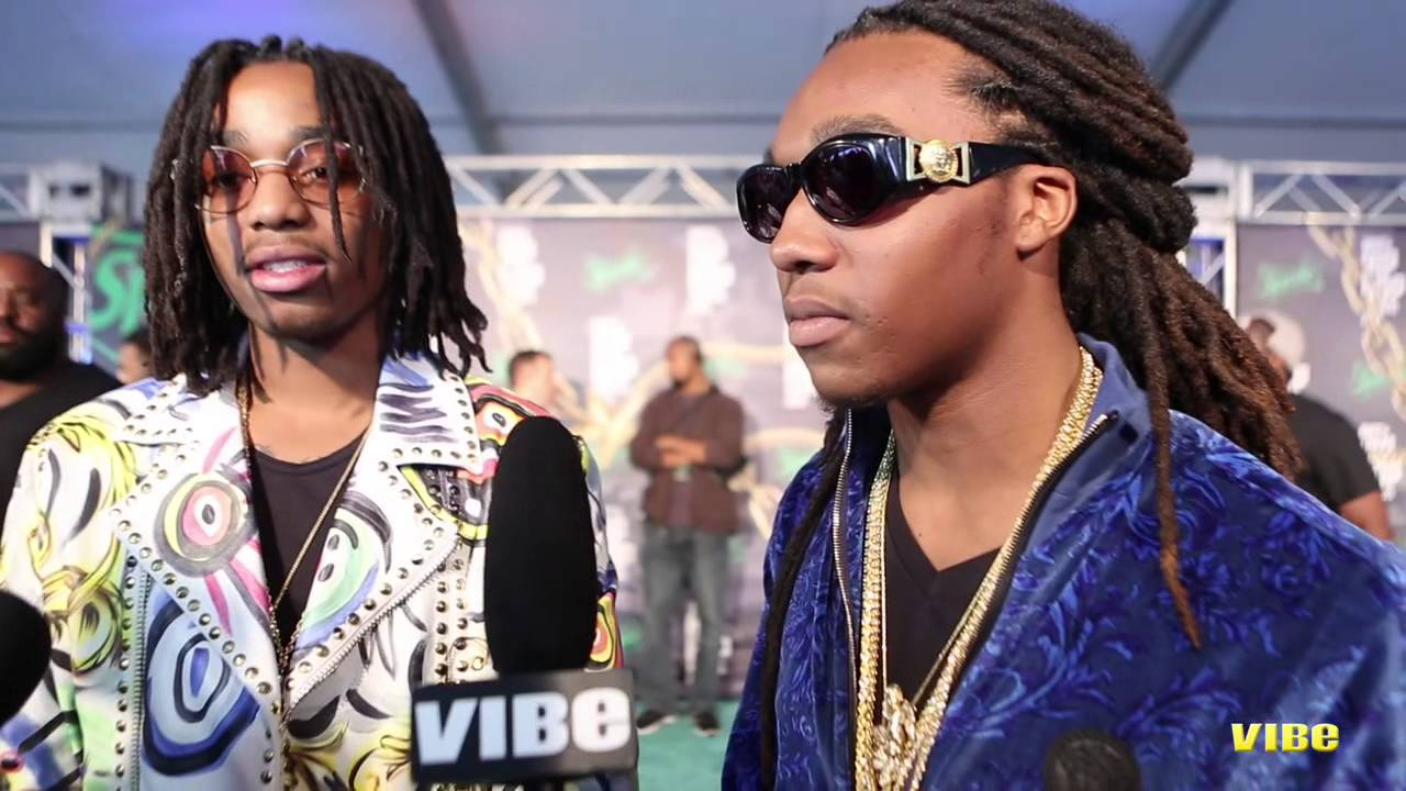d48b0ad0e5 Migos Talk Versace Video at 2013 BET Hip Hop Awards - YouTube