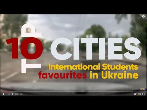 Top 10 Cities In Ukraine - International Students Favourites