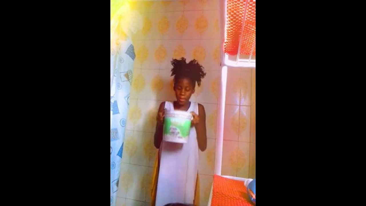 Jamaican girl does Als Ice Bucket Challenge :)