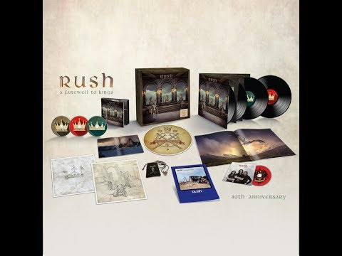 Unboxing:  Rush  - Farewell To Kings (40th anniversary super deluxe Boxset)