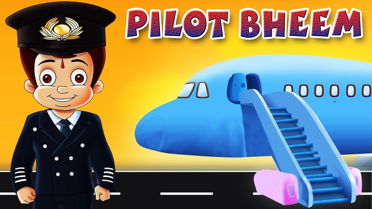 Chhota Bheem bana Pilot Bheem