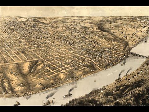 Kansas City Missouri History and Cartography (1869)