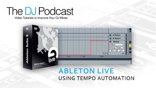 Adding Tempo Changes - Master Tempo Automation In Ableton Live