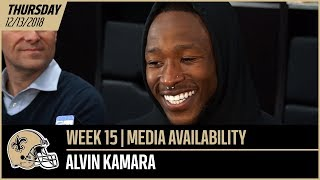 """Alvin Kamara: """"I think we have a feel for one another"""" 