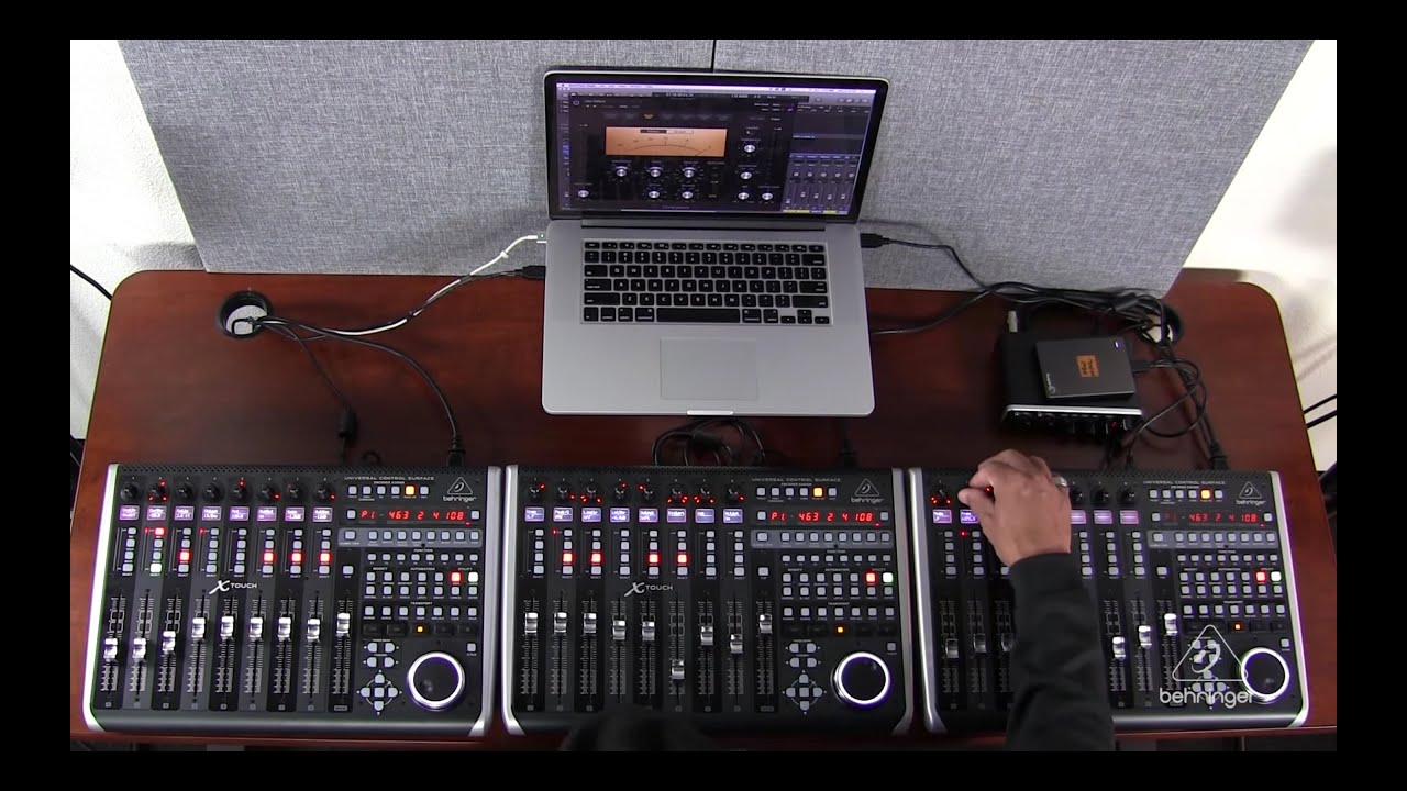 X Touch How To Cascading Multiple Units In Logic Youtube