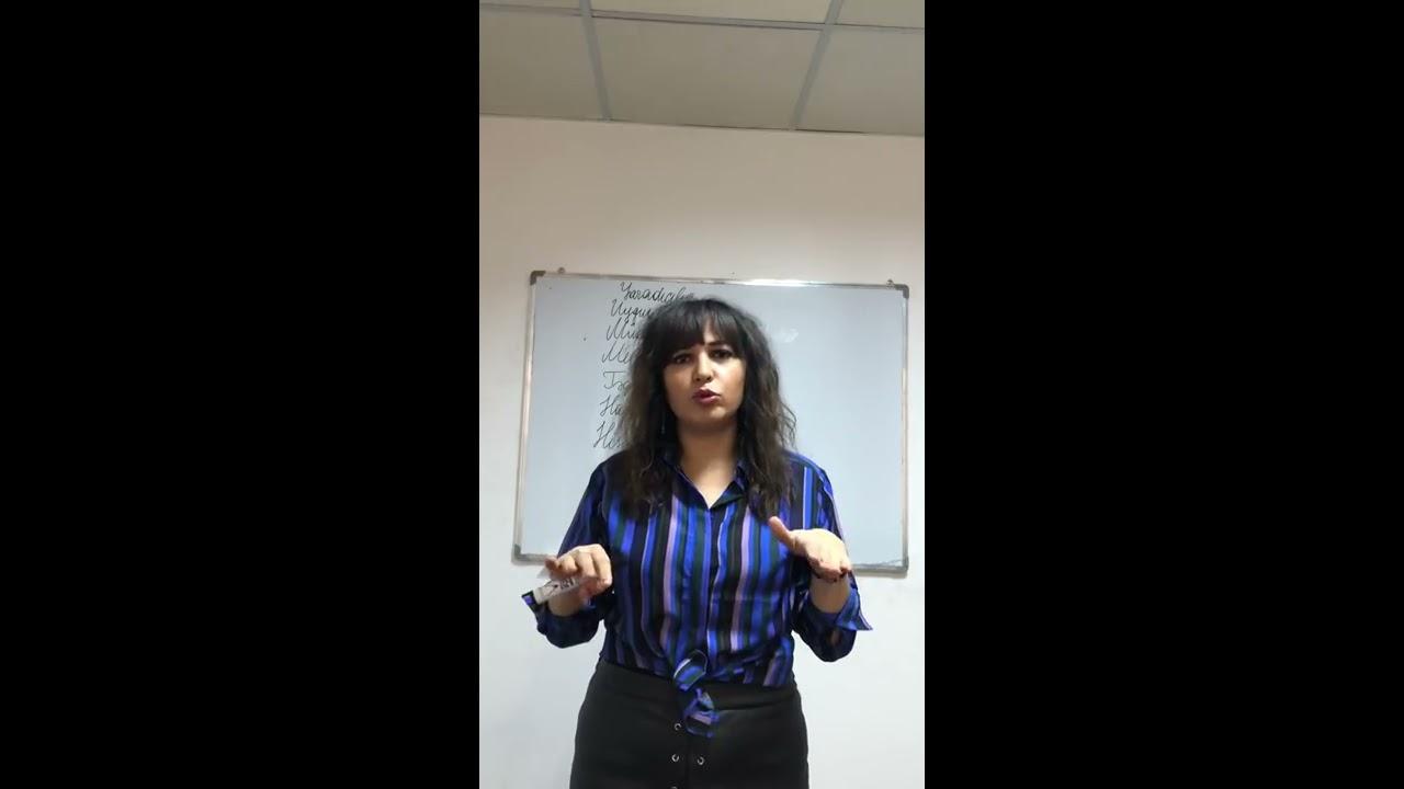 Kurikulum Ders 5 II hisse. Guler Huseynova. B.P.A 055-739-01-73