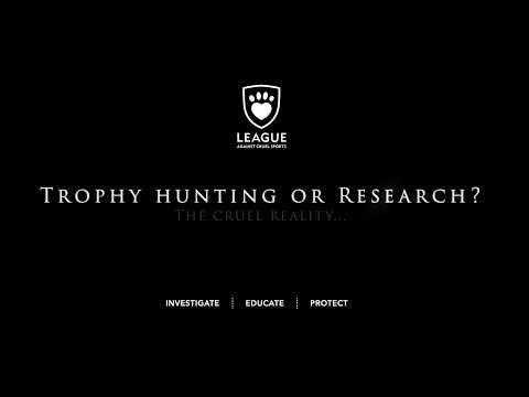Trophy Hunting Or Research?
