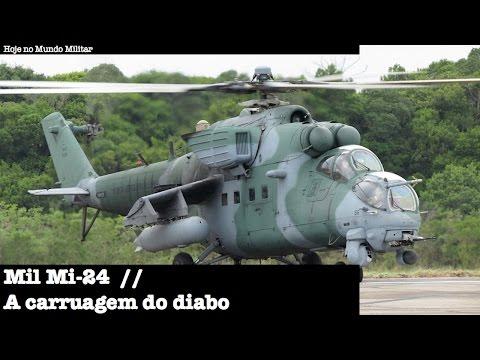 Mil Mi-24 - A carruagem do diabo