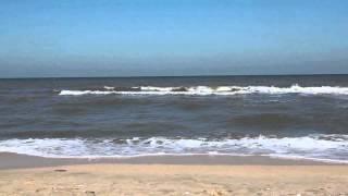 Пляж Азовское море. Поселок Голубицкая