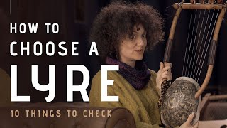 Choosing a Lyre - 10 Things I Wished I Knew Before Buying my First Lyre (LyreAcademy.com)