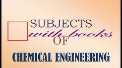 chemical Engineering Subjects with books