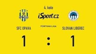 SFC SLEZKÝ OPAVA vs FC SLOVAN LIBEREC