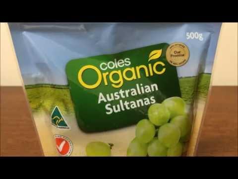 Organic Australian Sultanas Best Price Perth