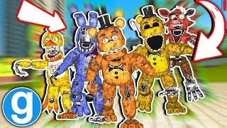 Gmod Fnaf - New Fazbear Ultimate Pill Pack Remastered Withered Animatronics