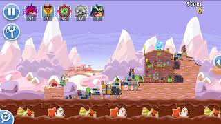 Angry Birds Friends 28th Dec 2017 Level 4 SANTACOAL & CANDYCLAUS TOURNAMENT.