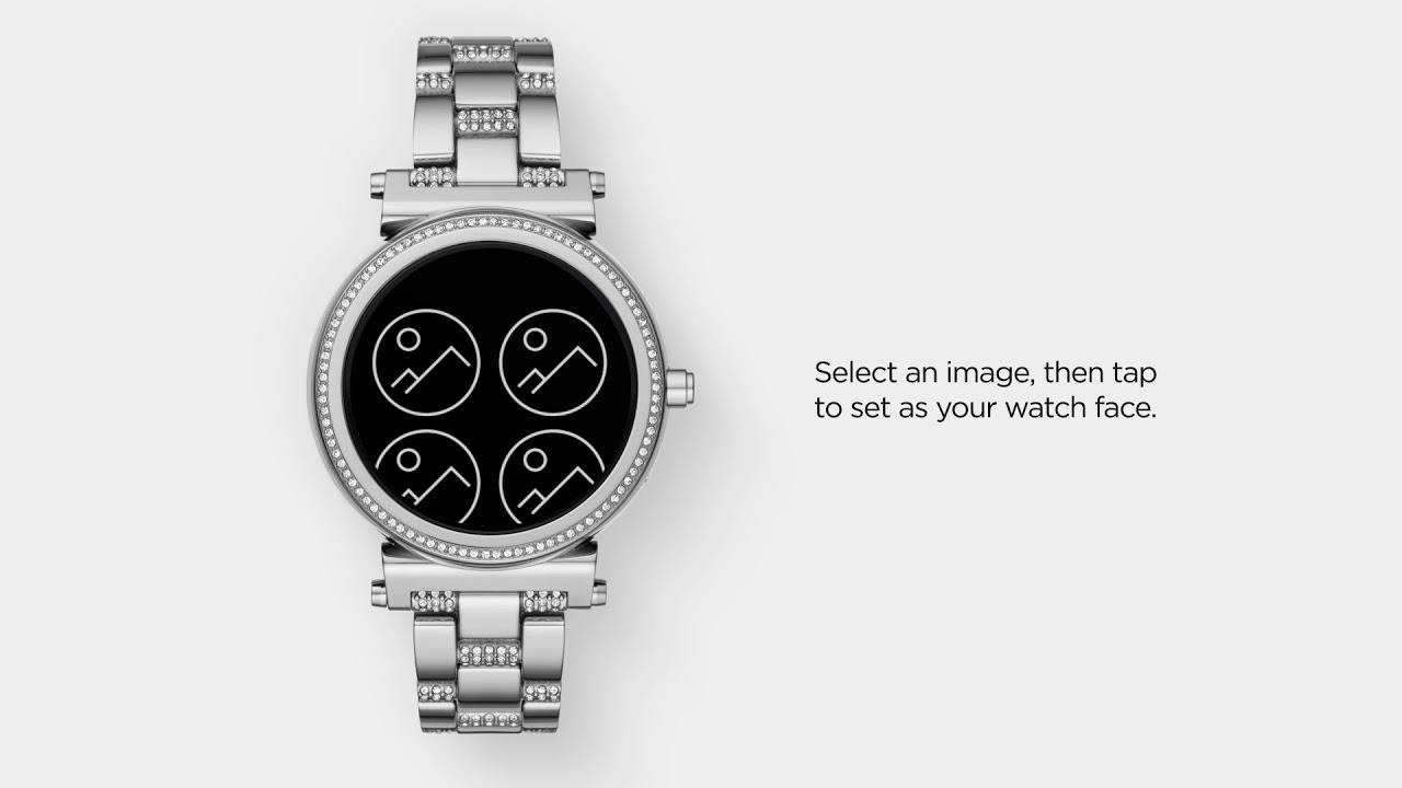 Michael Kors Zugang Sofie Smartwatch | Verwenden von My Social