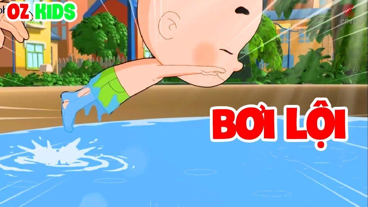 Con Đầu To Tập Bơi Ở Đài Phun Nước NTN ?
