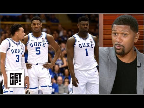 Duke's lineup around Zion won't lead to success in the NCAA tournament – Jalen Rose | Get Up!