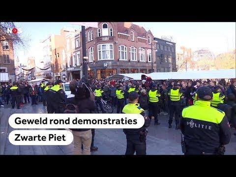 ZWARTE PIET: Onrust in verschillende steden rond demonstraties