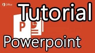 Tutorial Powerpoint 2013 - Cómo hacer presentaciones en Powerpoint thumbnail