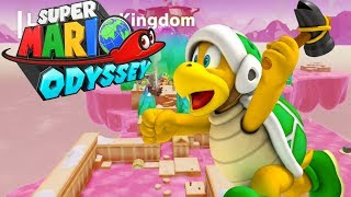 CUKIERKOWY ŚWIAT! - Let's Play Super Mario Odyssey #16 [NINTENDO SWITCH]