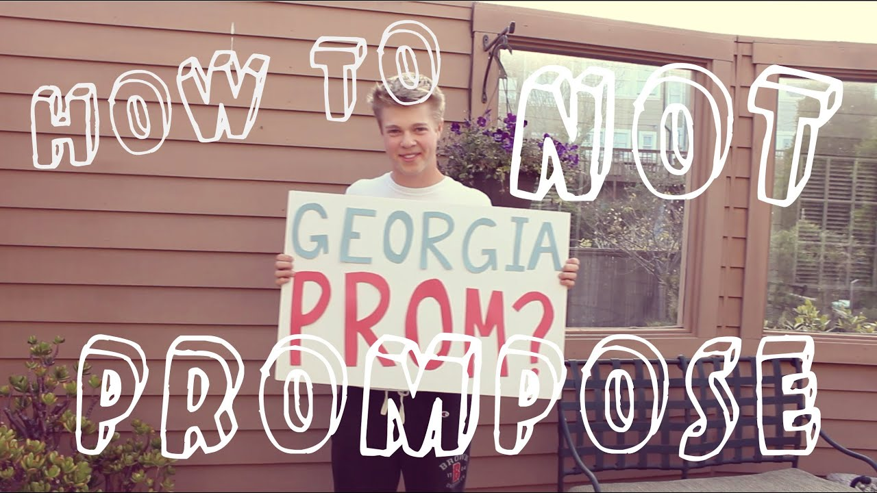 5 Ways To Not Ask Someone To Prom (aka Jack Asks Georgia To Prom)   Justjoelle1 Ft Jack