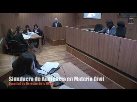 Simulacro De Audiencia En Materia Civil En La Facultad De Derecho UNAM