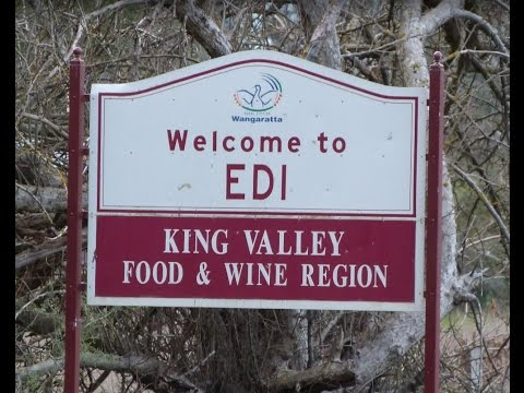 EDI Cutting, Camping area, King River, Drive Through, Lovely green grass.