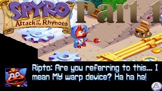 Spyro - Attack of the Rhynocs [Part 1] Ripto Returns! [HD]