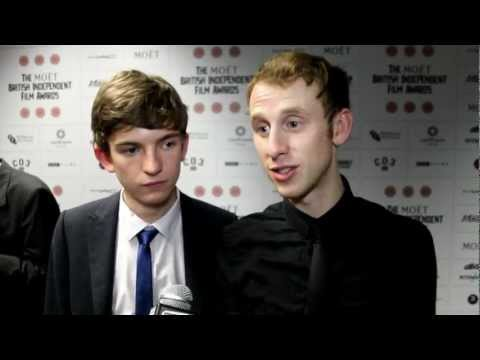 Bill Milner and Robert Emms Interview - The British Independent Film Awards 2012