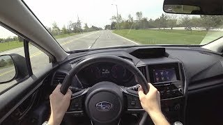 2018 Subaru Crosstrek 2.0i Premium 6-Speed Manual - POV Test Drive (Binaural Audio)