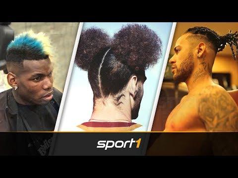 Neymar, Paul Pogba und Co.: Das sind die verrücktesten Fußballer-Frisuren | SPORT1