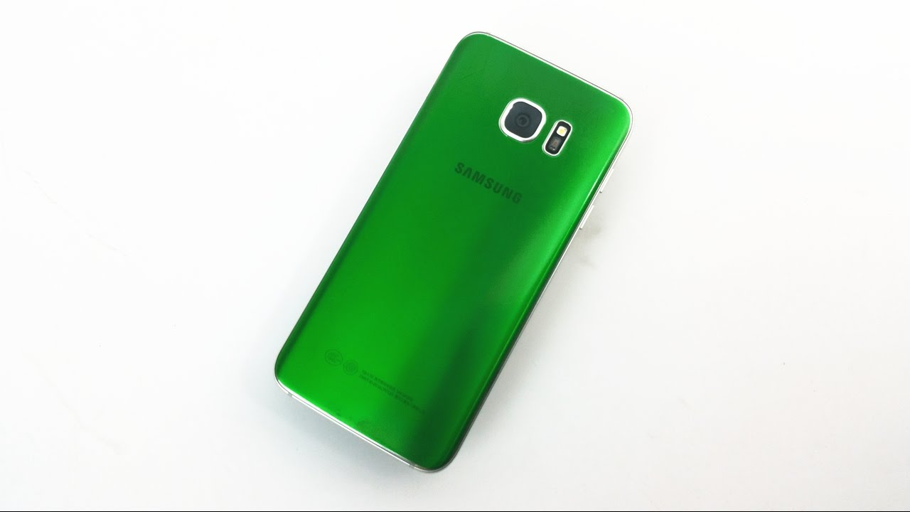 Emerald Green Samsung Galaxy S7 Edge