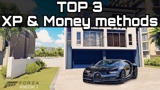 TOP 3 BEST ways to make Money & XP!   Forza Horizon 3