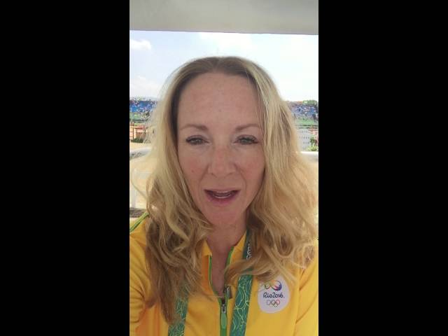 Live from RIO 2016! Angela Covert's invitation to come to Quebec Masters 2016