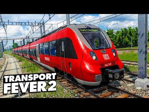 TRANSPORT FEVER 2 #13: Der TALENT 2 Im Einsatz | Gameplay Der Eisenbahn-Simulation