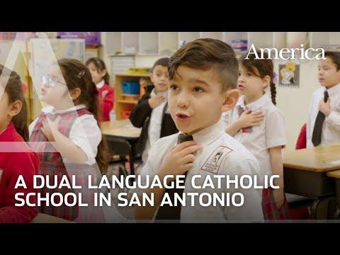 The dual-language school in Texas revitalizing Catholic education